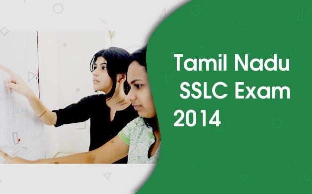 Tamil Nadu SSLC 2014 / Class 10 Exam Time Table