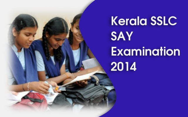 Kerala SSLC SAY Examination 2014 Time Table – keralapareekshabhavan.in