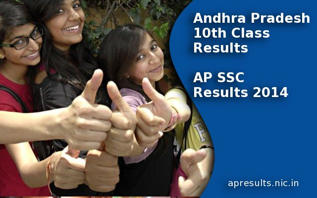AP SSC Results 2014, AP 10th Class Results on apresults.nic.in
