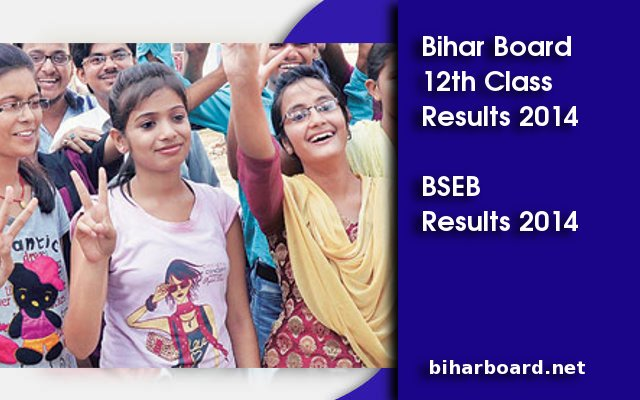 BIhar Board 12th Class Results 2014 declared on biharboard.net