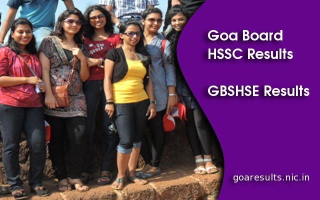 Goa Board HSSC Result 2014 Declared on goaresults.nic.in