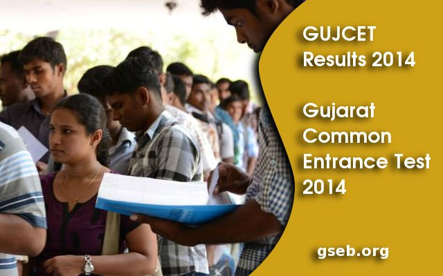 GUJCET Results 2014, Gujarat CET Results declared on gseb.org