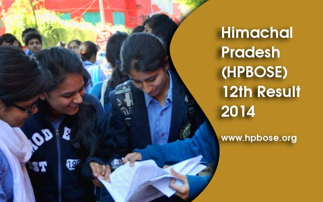 Himachal Pradesh HPBOSE 12th Results 2014 Declared on hpbose.org