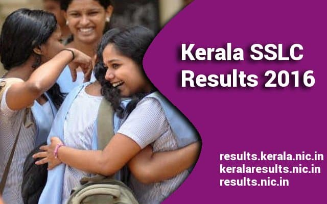 Kerala SSLC Results 2016 announced on keralaresults.nic.in