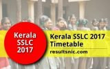 kerala-sslc-2017-timetable