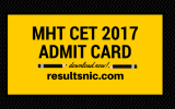 Download MHT CET Admit cards