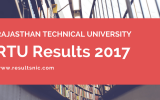 RTU Results 2017 - esuvidha