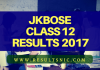 JKBOSE 12th Results Declared – jkbose.co.in