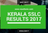 Kerala SSLC 2017 Results – keralapareekshabhavan.in