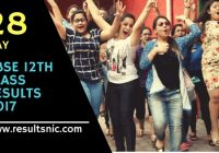 CBSE 12th Result 2017 Declared check on cbsesresults.nic.in