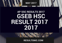 GSEB HSC Result 2017 – Gujarat HSC Result 2017 Science available on 5th May
