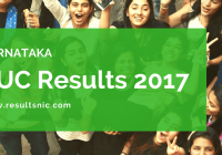 Karnataka PUC Results 2017 declared on karresults.nic.in