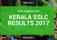 Kerala SSLC Result 2017 – results.itschool.gov.in