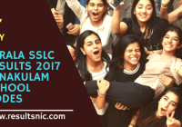 Kerala SSLC Results 2017 – School Codes and School Wise Results – Ernakulam District
