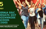 Kerala SSLC Results 2017 School Wise results Kozhikkode District Codes