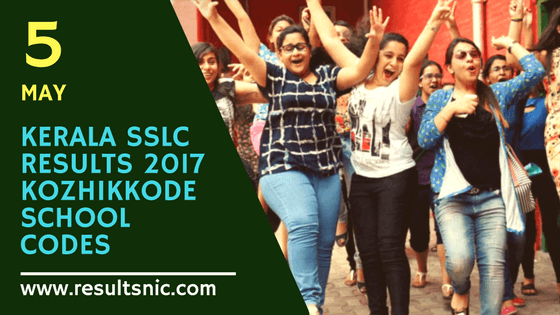 Kerala SSLC Results 2017 School Wise results Kozhikkode District Codes