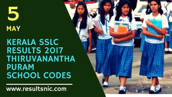 Kerala SSLC Results School Wise results Thiruvananthapuram District