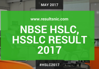 NBSE HSLC, HSSLC Result 2017 To Be Released On May 8