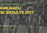 Tamil Nadu HSC Class 12 Results 2017 available on 12th May 2017 – tnresults.nic.in
