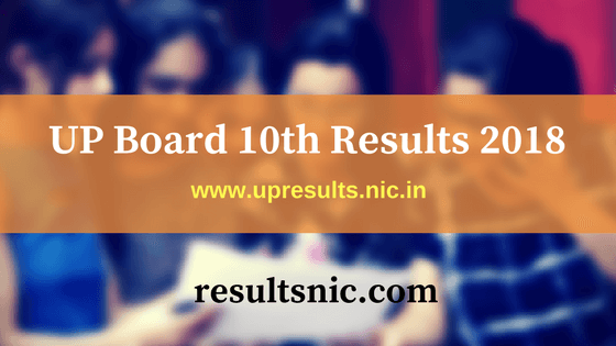 UP Board 10th Results 2018