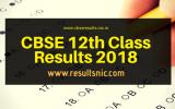 CBSE 12th result 2018