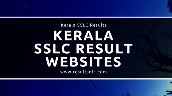 Kerala SSLC Result Official Websites