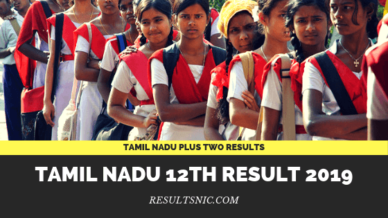 TN Board HSE 12th Result 2019